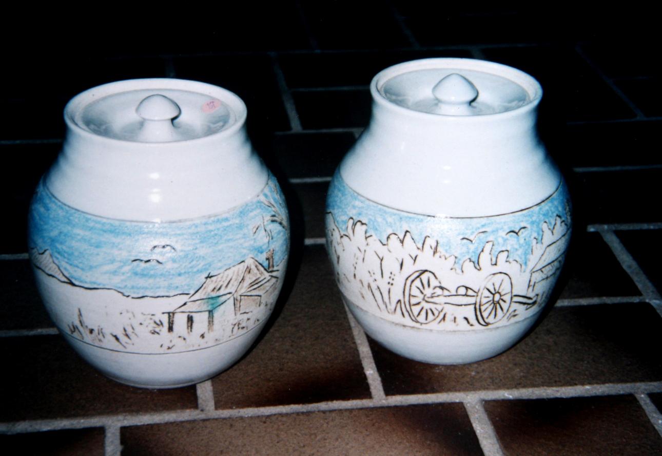 pair perth jars 1991