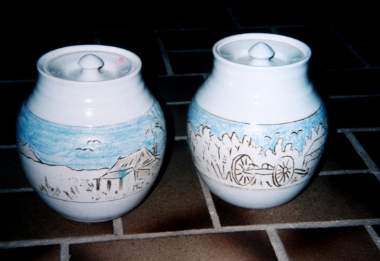 pair perth jars 1991